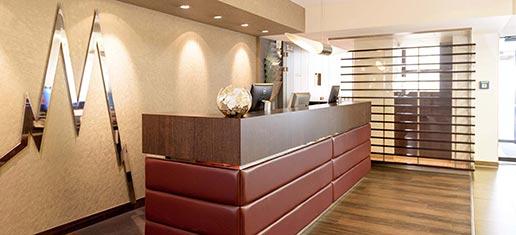 Hotel Lyskirchen Rezeption / Reception